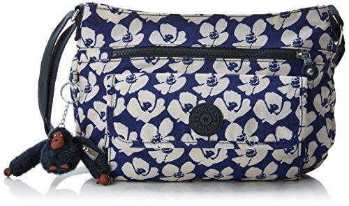 Kipling womens K13163 Cross Body Bag Multicolour Bold Flower 31 x 22 x 125 cm