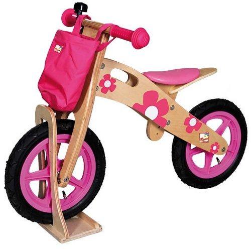 Bino 19 x 13 x 34.5 cm Stand for Wooden Balance Bike (Multi-Colour) by Bino