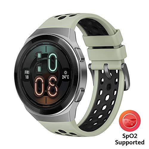 Huawei Watch GT 2e Active – AMOLED Smartwatch 1,39 Zoll Display, 2 Wochen Akkulaufzeit, GPS, Grün