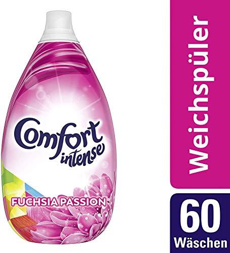 Comfort Intense Weichspüler (für frische Wäsche Fuchsia Passion 60 WL) ( 2 x 900 ml)