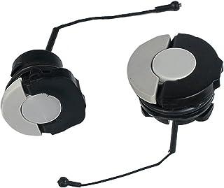 Hippotech 2 tapas de filtro de aceite para motosierra y tapa de combustible para STIHL MS210, MS230, MS240, MS250, MS250C,...