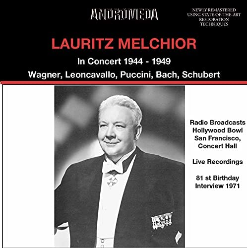 Lauritz Melchior, Helen Traubel, Hollywood Bowl Symphony Orchestra, Orchestra Of The San Francisco Opera House, Concert Hall Orchestra, Donald Voorhees, Eugene Ormandy & Alfred Wallenstein