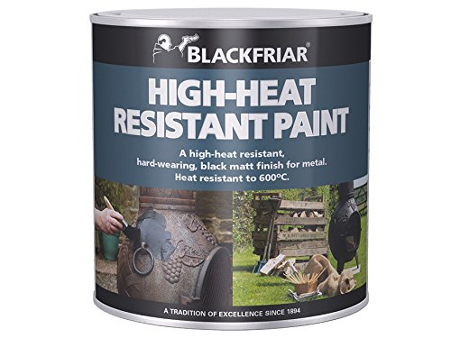 Blackfriar BKFHRB250 Heat Resistant Paint 250 ml,...