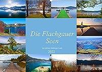 Die Flachgauer Seen (Wandkalender 2022 DIN A2 quer): Impressionen von den schoenen Flachgauer Seen (Monatskalender, 14 Seiten )