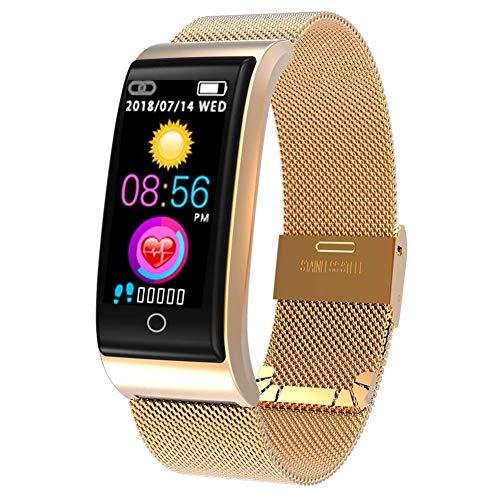 CYGGJ Smart Watch F4, wasserdichte Smartwatch für Damen Herren Kinder, Fitness Activity Tracker mit Herzfrequenz/Blutdruck/Schrittzähler/Kalorien, Armband für Android und IOS.