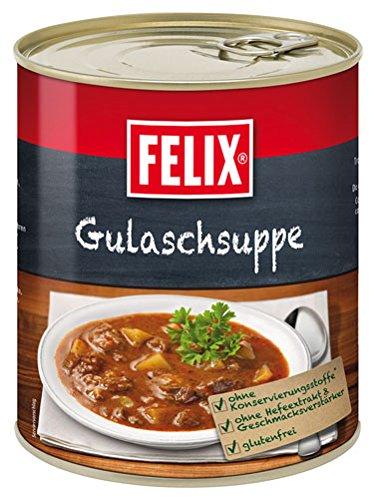 Felix Gulaschsuppe, mit saftigem Rindfleisch - 800g - 6x