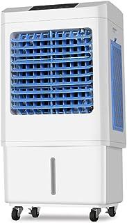 ZHIRONG Refrigerador de Aire móvil Solo frío con Industria de temporización de Control Remoto Ventilador de Aire frío Ventilador de Aire Acondicionado de Tanque de Agua 35L 135W