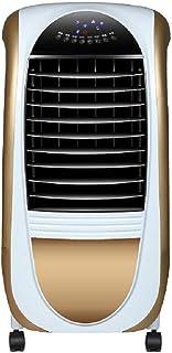 ventilador del aire acondicionado Refrigerador De Aire Sin Hojas PortáTil, Control Remoto Temporizador SalóN Gran Angular Suministro De Aire Tanque Grande Enfriador De Aire Ventilador De Torre