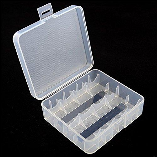 Keeppower Aufbewahrungsbox D1 für 4X 18650 oder 2X 26650 Li-Ion-Akkus