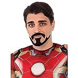 Tony Stark Moustache and Goatee Costume Accessory