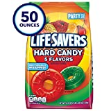 LIFE SAVERS 5 Flavors Hard Candy 50-Ounce Party Size Bag