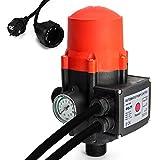AWM Pumpen Druckschalter automatische Pumpensteuerung, verkabelt, Trockenlaufschutz, Rückschlagventil, maximale 10 bar, AM-109B