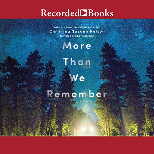 More Than We Remember audiobook cover art