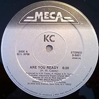 Are You Ready / Don't Break My Heart - KC 12