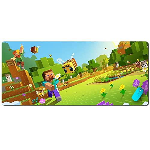 Tapis de Souris Minecraft surdimensionné Couture Petit Tapis de Bureau d