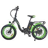 Addmotor Motan 20' Step-Thru Folding Electric Bicycle, 750W 16Ah M140 P7 (Green 2021)