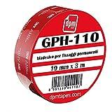 3M VHB - Nastro Biadesivo GPH110 per fissaggio permanente GPH 110 (19 mm x 3 m) - 1 pezzo