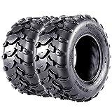 VANACC ATV UTV Tires 20x10x10 Sport AT Tire 20 inch 20x10-10, 4PR, Set of 2