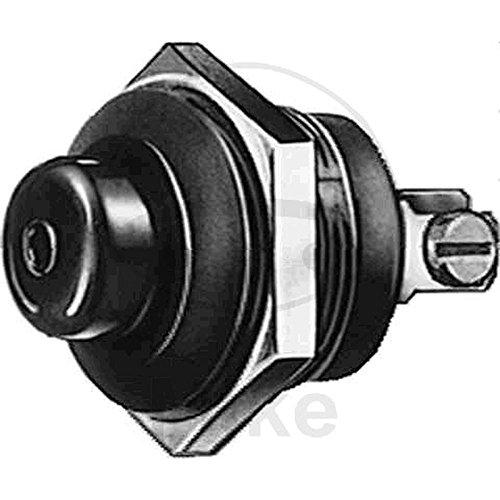 HELLA 6JF 001 571-001 Zünd-/Startschalter - Druckbetätigung - Anschlussanzahl: 2 - geschraubt - Bohrung-Ø: 24mm - Blechdicke: 5mm - Schließer