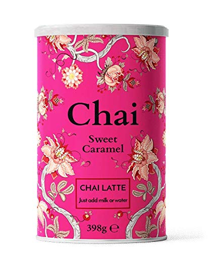 Nordic Roast | Chai Latte Tee | Sweet Caramel | 398g | Instant-Chai Tee Latte-Mischung in Pulverform, zu genießen zu Hause, im Café, oder im Restaurant, reicht für 15 Tassen