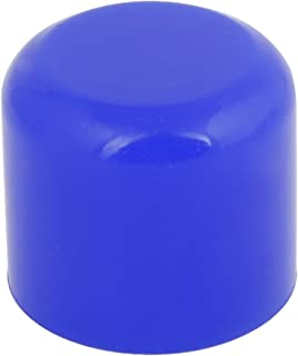 uxcell 32mm Blue Silicone Hose End Blanking Caps Cap Off Bung Finisher Pipe