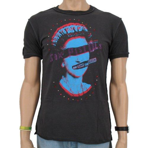 Sex Pistols - God save the Queen Diamante Amplified Band T-Shirt, vintage black, Größe:XL