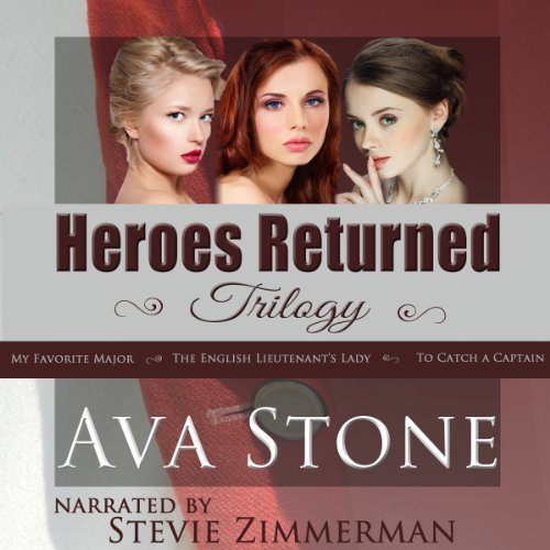 Heroes Returned Trilogy audiobook cover art