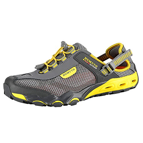 Mens Water Shoes Hiking Aqua Shoes Quick Dry Breathable Wading Trekking Sneakers...