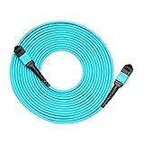 Glasfaser-Patchkabel, Mpo-Stecker auf MPO-Buchse, 12 Fasern, OM3, 50/125, Multimode, Typ A, 50 m