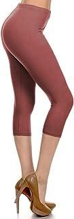 High Waisted Capri Leggings - Soft & Slim - 37+ Colors