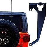 Kraken Offroad Premium Antenna or Flag Mount Bracket for Passenger Side CB NMO FRS GMRS HAM Compatible with Jeep Wrangler JL/JLU 2018 2019 2020 & UP