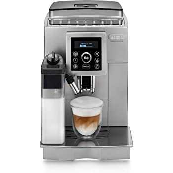 DeLonghi ECAM 23.460 S - Cafetera superautomática, autocappuccino, digital, sistema IFD, plateada: Amazon.es: Hogar
