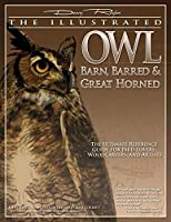 The Illustrated Owl: Barn, Barred, & Great Horned: The Ultimate Reference Guide for Bird Lovers, Woodcarvers, and Artists (Denny Rogers Visual Reference)