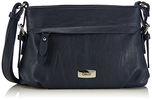 Gabor Umhängetasche Damen Lisa, 26x17x10 cm, Blau (blau 50), Gabor Handtasche Damen