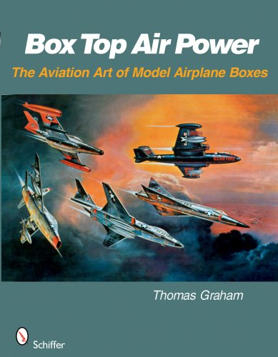 Box Top Air Power: The Aviation Art of Model Airplane Boxes