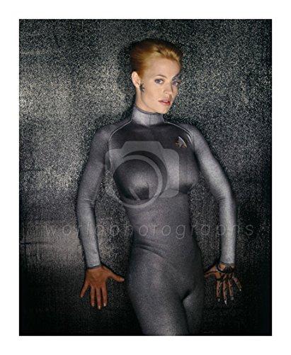 worldphotographs Star Trek Voyager (TV) Jeri Ryan 10x8 Photo