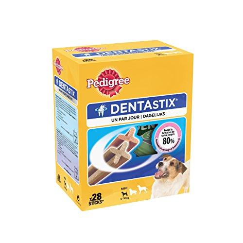 Pedigree Dentastix - Hygiène Bucco Dentaire - Petit Chien - 1 boîte de 28 Bâtonnets