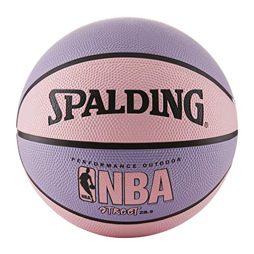 Product Image of the Spalding NBA Street Pink Outdoor Basketball , Pink/Purple , Size 6 -...