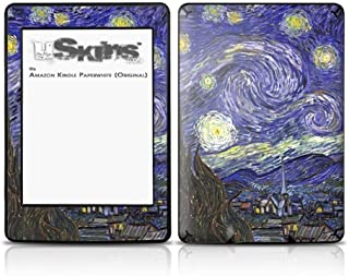 Vincent Van Gogh Starry Night - Decal Style Skin fits Amazon Kindle Paperwhite (Original)