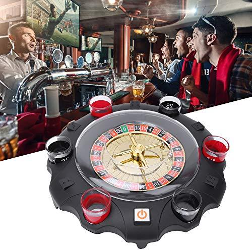 Gioco bevente della ruota della piattaforma girevole fortunata russa elettrica per le attività dei giochi del partito di intrattenimento del partito di KTV della barra