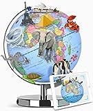 TTKTK AR world globe ,Scientific Smart Globe Lamp Explorer AR Educational World Geography