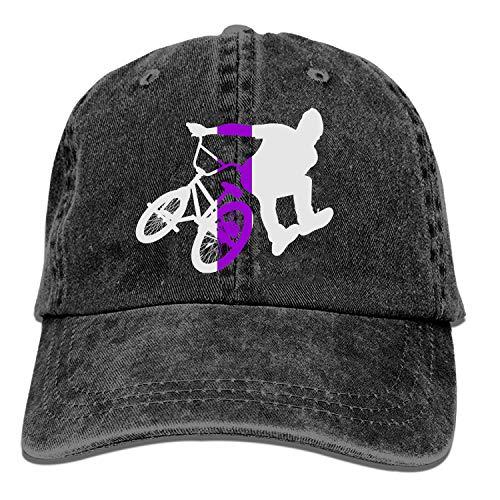Luxng - Cappellino da baseball BMX Flatland da cowboy, unisex, per papà, golf, camionista