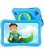 Tablet para Niños con Cámaras de 5MP y 2MP, Vankyo Tablet Niña con WiFi con ROM de 32GB, Processore Quad-Core, Android 9.0, RAM de 2GB (Azul)