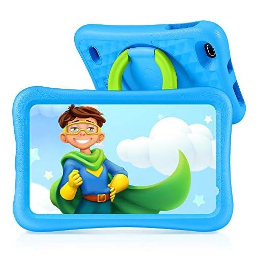 Vankyo Tablet para Niños con Cámaras de 5MP y 2MP, Tablet Infantil con ROM de 32GB, Tablet Niños con WiFi Processore… 1