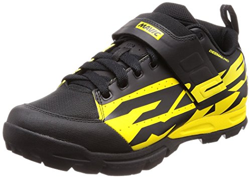 Mavic Deemax Pro Cycling Shoe - Men's Yellow Mavic/Black, US 12.5/UK 12.0