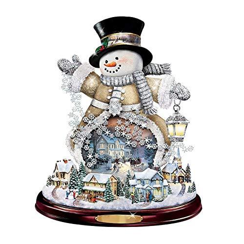 Hanomes Fensterbilder Weihnachten Fensterbilder Winter Wiederverwendbar Schneemann Fensteraufkleber Statisch Selbstklebend Wand Aufkleber des Elche Süße Weihnachtsmann Türaufkleber