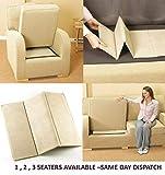 TheWhiteWater - Soporte para sofá para asiento de asiento (1-2-3 y 1 – 2-3)