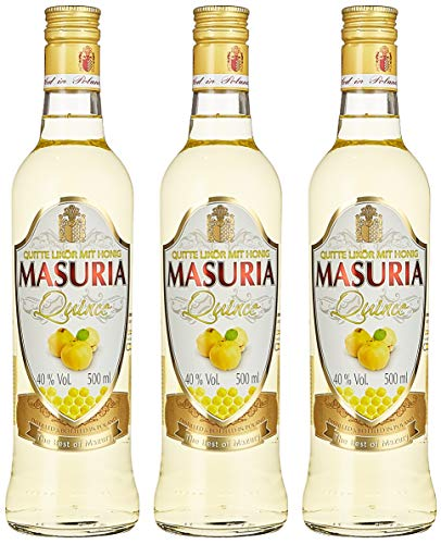 Mazurskie Miody Quitte Wodka Liköre (3 x 0.5 l)
