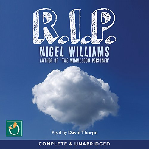 R.I.P. audiobook cover art
