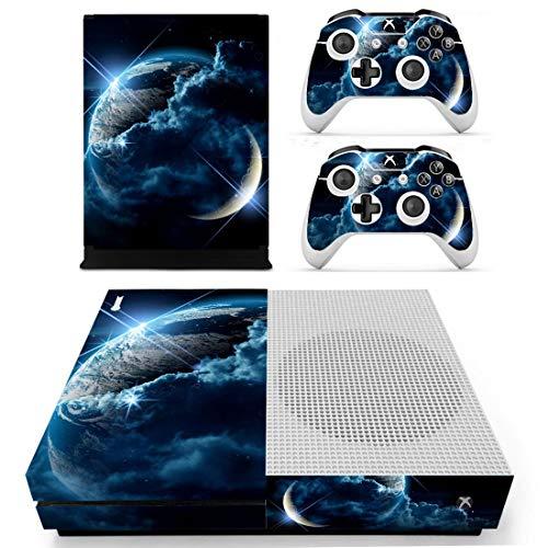 DolDer Sticker Aufkleber Skin für Xbox One S inklusive 2er-Set mit Aufklebern für Controller 1785